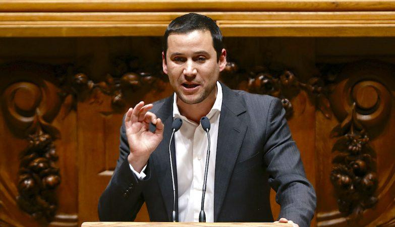 O deputado do Partido Socialista (PS), João Galamba