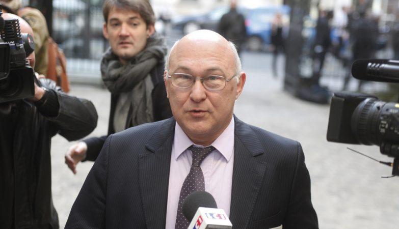 O ministro dos Negócios Estrangeiros francês,  Michel Sapin