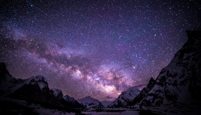 A Via Láctea, vista do Paquistão