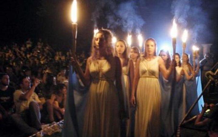 Festival Prometheia - um dos eventos que celebra os deuses da antiguidade