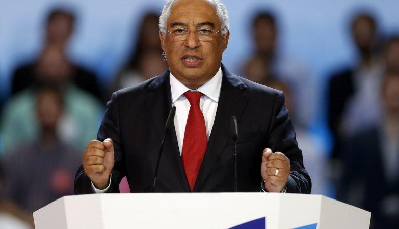 O secretário-geral do Partido Socialista, António Costa, no discurso de encerramento do 21 Congresso do Partido Socialista