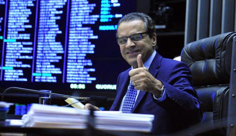 O Ministro do Turismo do Brasil, Henrique Alves