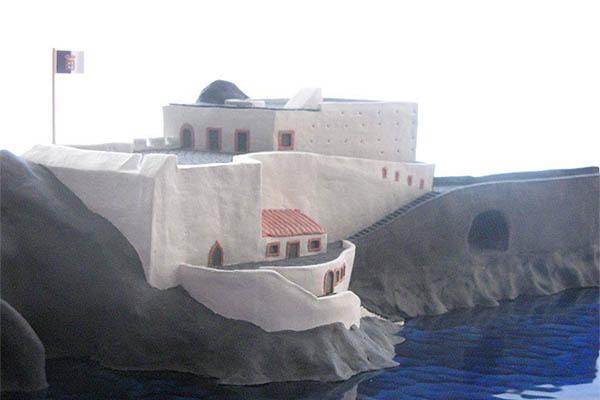 Planos de reconstrução do Forte de S. José no Principado da Pontinha