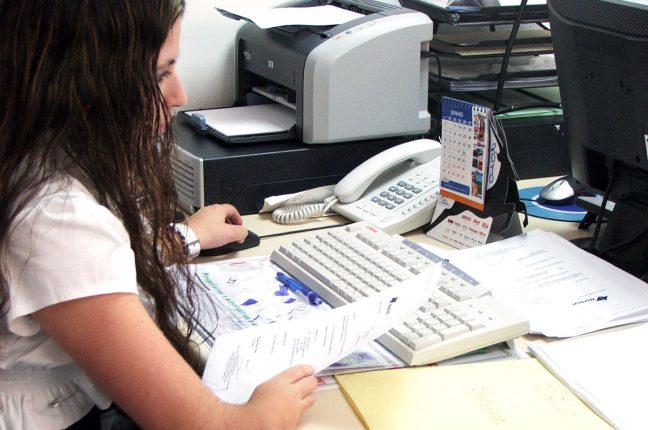 Susana Silva, Operadora de Registo de Dados na Blanes