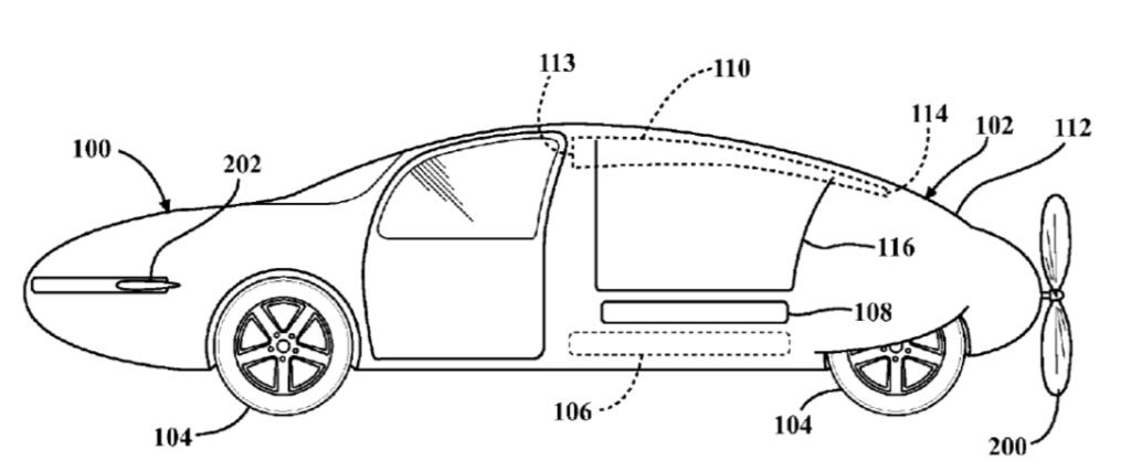 O projeto de carro voador da Toyota