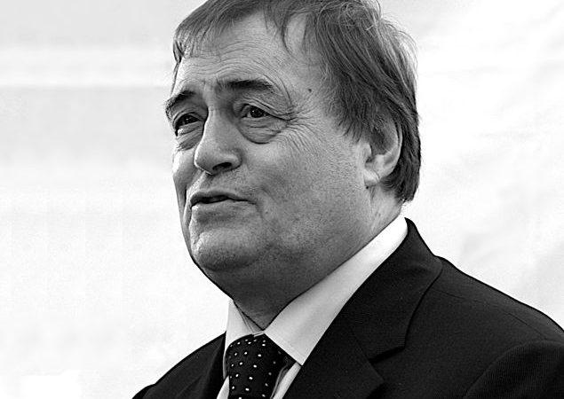 John Prescott, vice-Primeiro-ministro de Tony Blair
