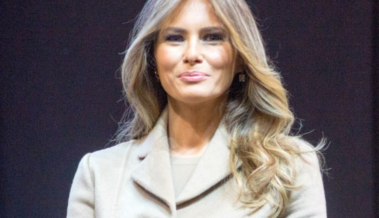 Melania Trump, mulher do candidato republicano às presidenciais nos EUA