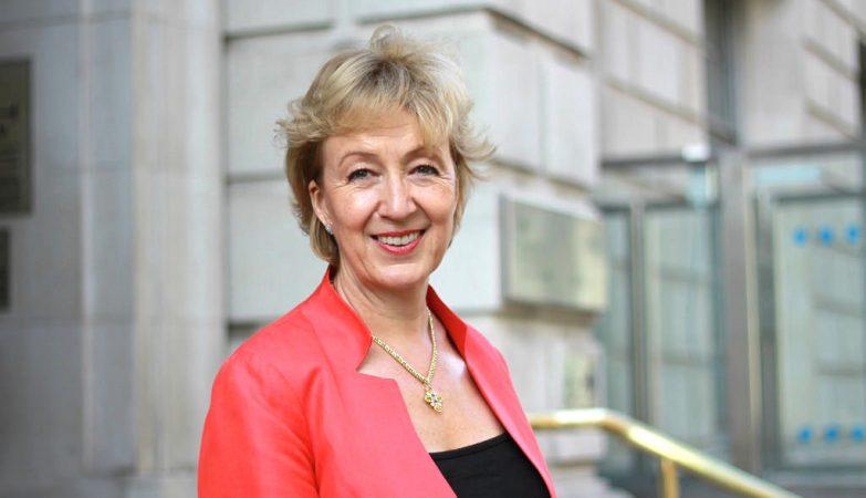 Andrea Leadsom, a secretária de Estado da Energia britânica