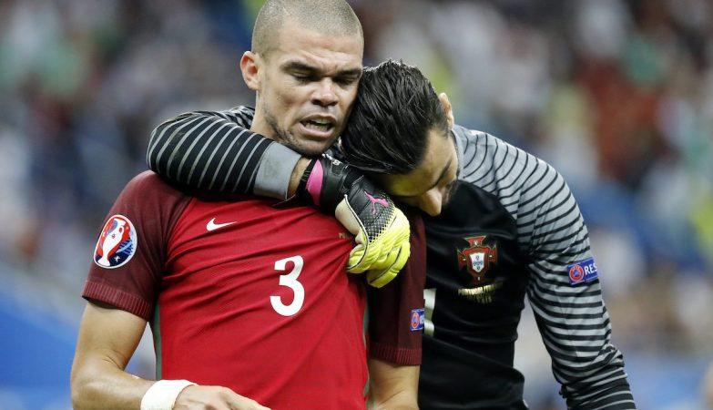 Rui Patrício foi um gigante entre os postes, Pepe esteve imperial na defesa e foi considerado o Homem do Jogo pela UEFA
