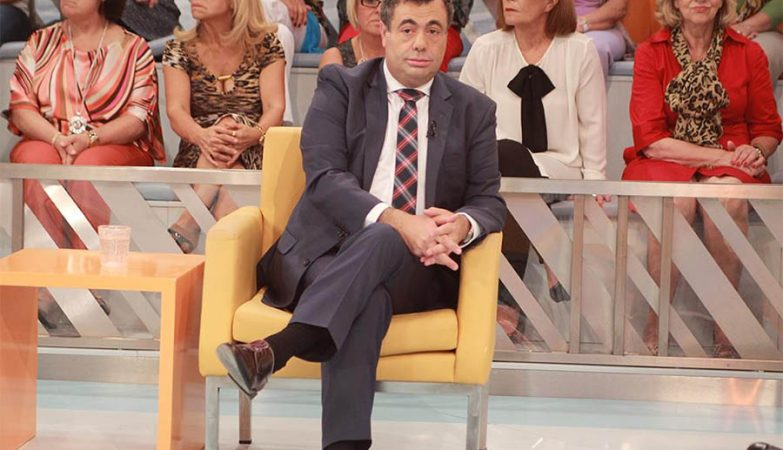 Psicólogo Quintino Aires no programa Você na TV da TVI