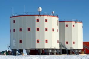 A base franco-italiana Concordia, na Antártida