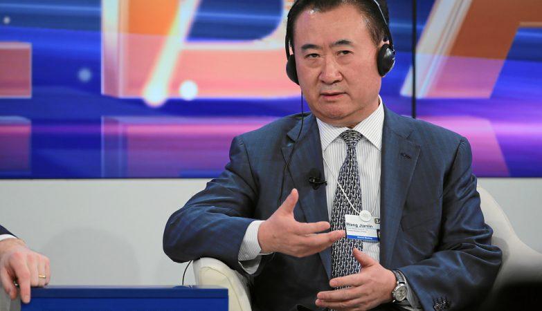 O multimilionário Wang Jianlin, fundador do grupo Dalian Wanda