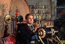 Rod Taylor e a sua Time Machine, filme de 1960 baseado no romance de HG Wells