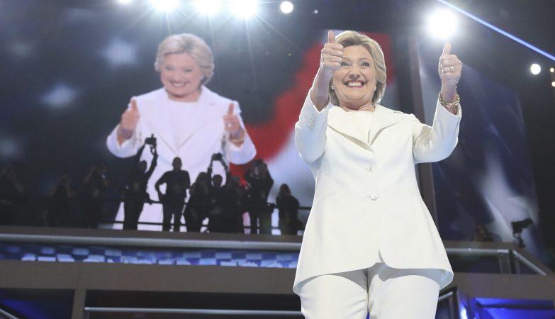 Hillary Clinton, a primeira mulher candidata às Presidenciais norte-americanas pelo Partido Democrata