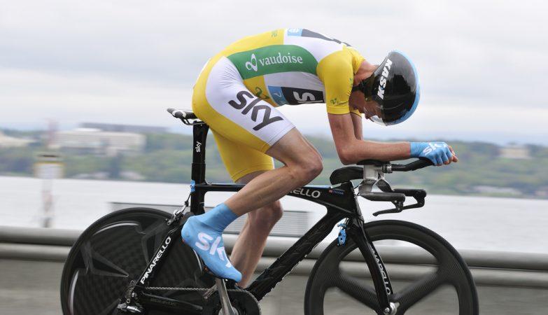 O ciclista Chris Froome