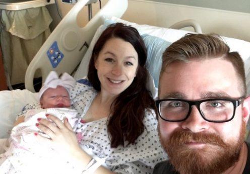 Jonathan Terriot apanhou um Pokémon na sala de partos onde a mulher estava prestes a dar à luz