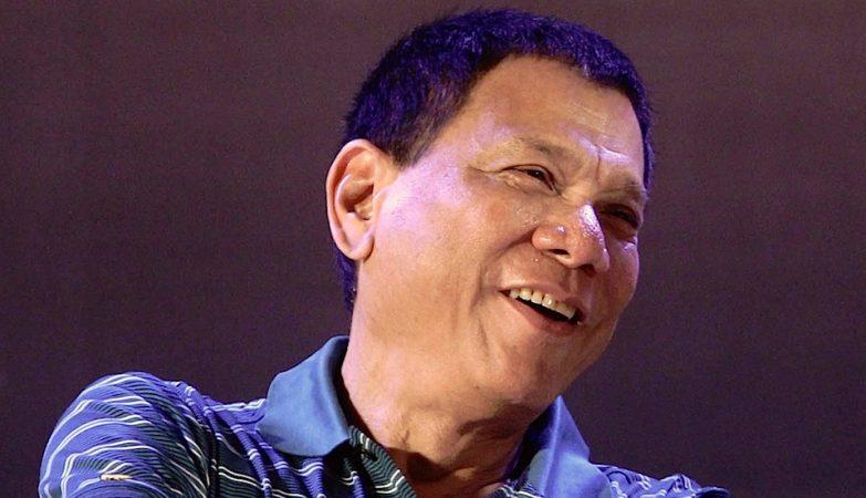 O novo presidente das Filipinas, Rodrigo Duterte