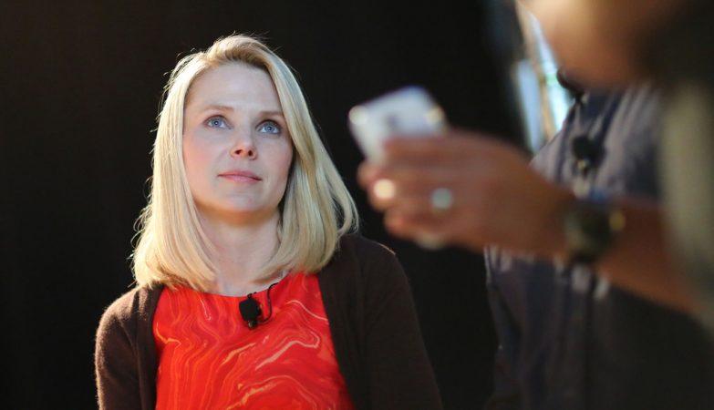"""A directora executiva da Yahoo!, Marissa Mayer, contratada em 2012 ao Google para """"reinventar e salvar"""" o mítico portal"""