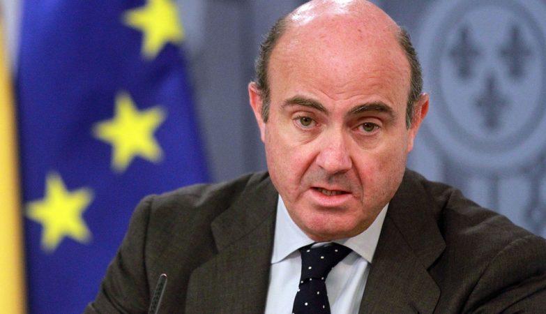 Luis de Guindos, ministro espanhol da Economia e da Competitividade