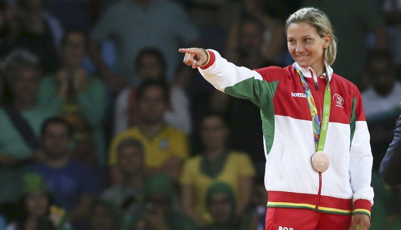 A judoca portuguesa Telma Monteiro