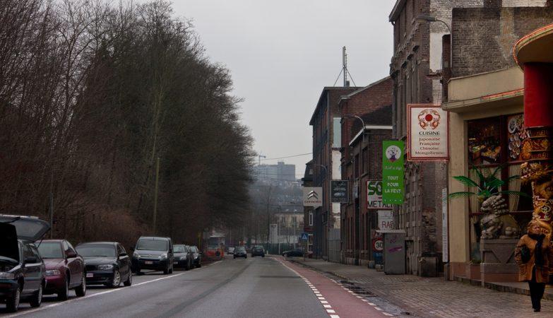 O vídeo foi gravado durante a noite, no centro da cidade belga de Verviers