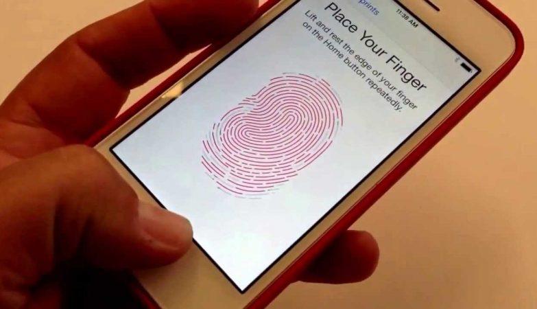 O scanner de impressões digitais do iPhone