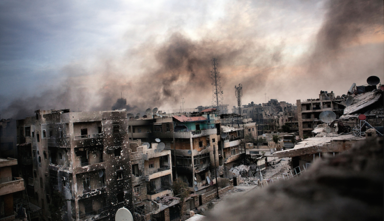Aleppo, Syria: Hell on Earth by Maysun