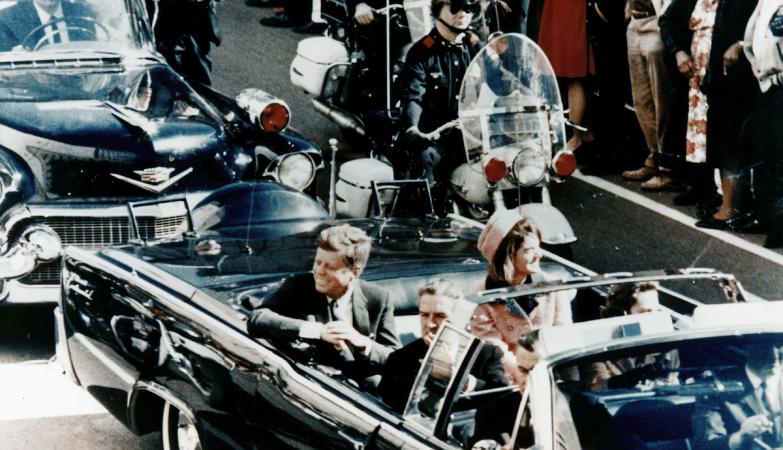 John F. Kennedy, em Dallas, em 1963