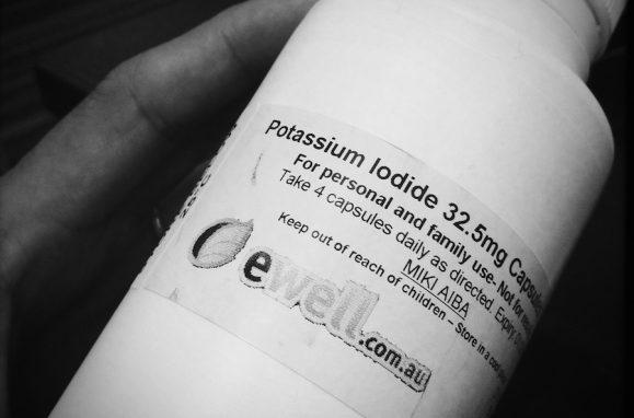 O iodeto de potássio protege a tiróide contra a radiação nuclear, porque a glândula absorve o iodo do sal em vez do iodo radioactivo