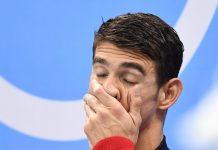 """O super-campeão de natação Michael """"Tubarão"""" Phelps despede-se da competição"""