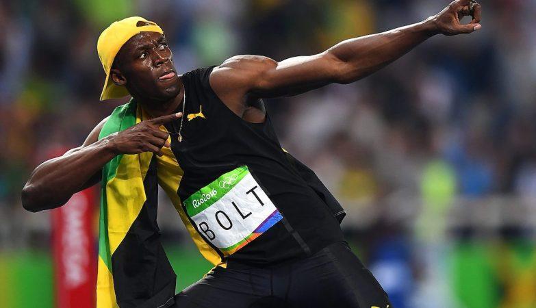 Usain Bolt conquistou pela terceira vez o título de homem mais rápido do mundo nos 100 metros