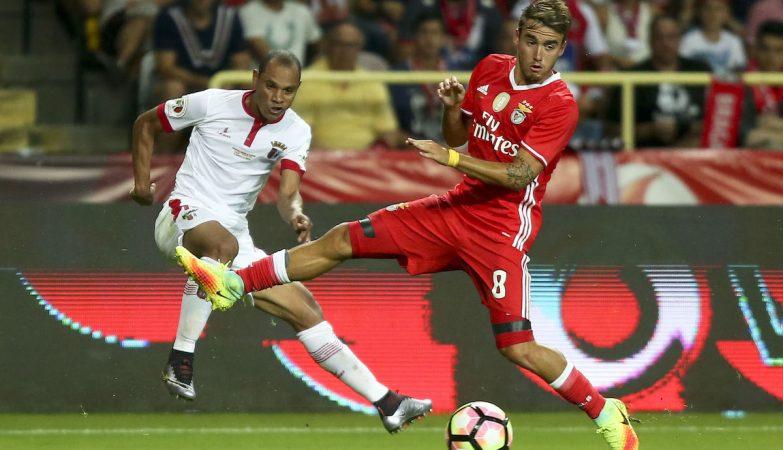 Andre Horta estreou-se a marcar pelo Benfica