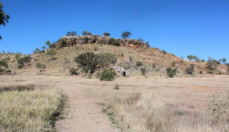 Riversleigh, em Queensland, Austrália, zona reconhecida mundialmente por ser rica em fósseis.