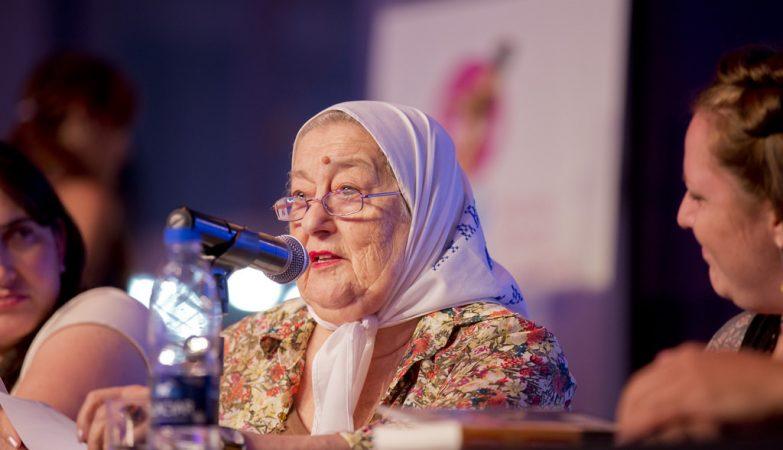 Hebe de Bonafini, líder das Mães da Praça de Maio