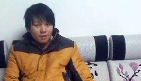 O jovem Liu Dawei, condenado a prisão perpétua por comprar armas de brincar