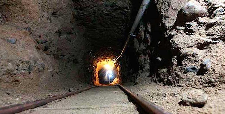 Tunel de 31 metros descoberto entre Sonora, no México, e o Arizona, nos EUA