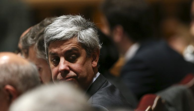 O ministro das Finanças, Mário Centeno,