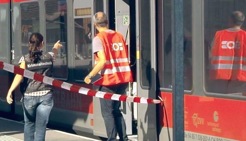 Ataque a um comboio na Suíça fez um morto e cinco feridos