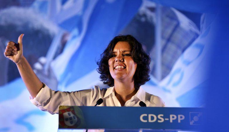 A presidente do CDS-PP, Assunção Cristas