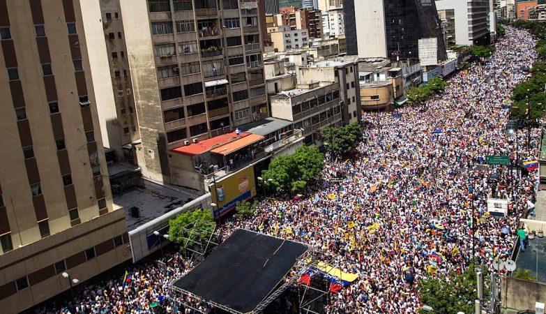 """Venezuela: a """"Tomada de Caracas"""", 1 de setembro de 2016"""