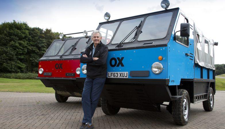 Global Vehicle Trust OX, por Gordon Murray