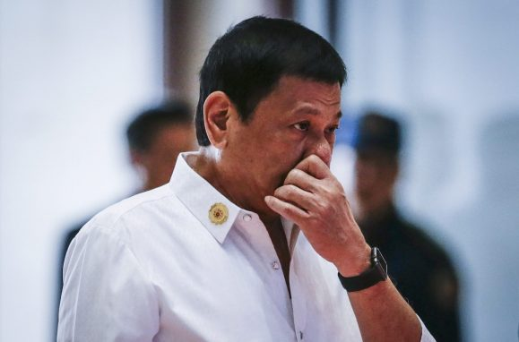O presidente das Filipinas, Rodrigo Roa Duterte
