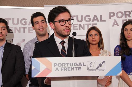Tomada de posse da JSD de Marco de Canaveses, liderada por Paulo Ricardo Teixeira