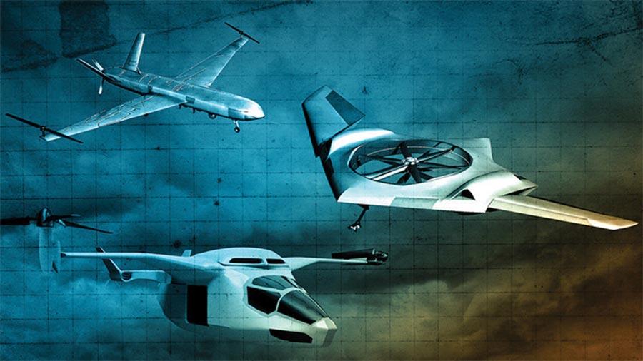 DARPA aposta na VTOL - Vertical Take-Off and Landing -, tecnologia de descolagem e aterragem vertical.