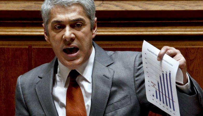 O ex-primeiro-ministro José Sócrates