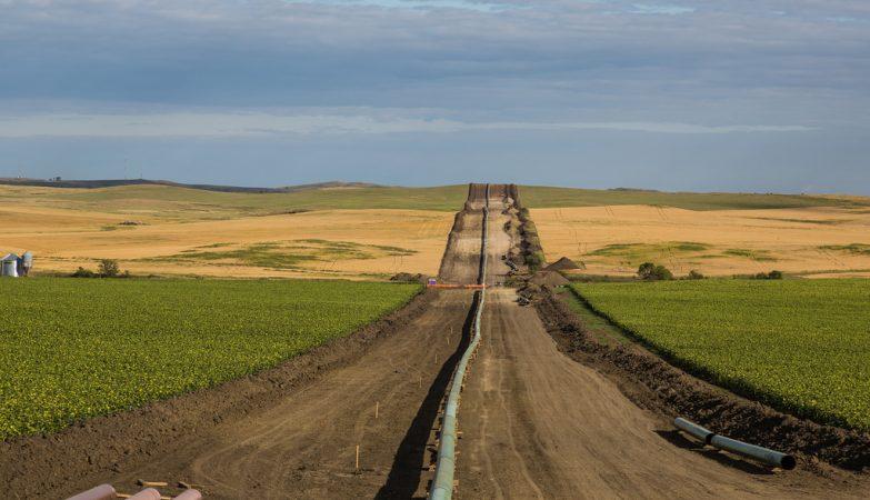 O Dakota Access Pipeline vai atravessar quatro estados norte-americanos