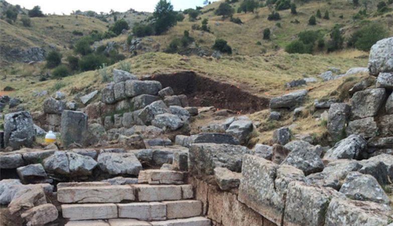 Escavações no Santuário de Zeus no Monte Lykaion, Grécia