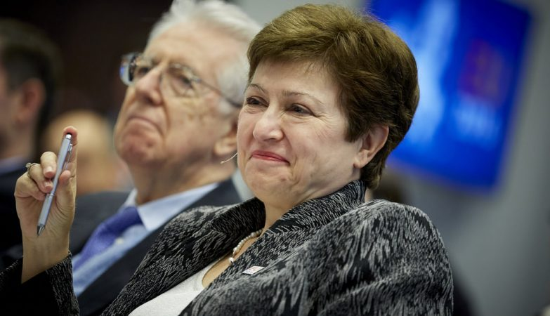 Kristalina Georgieva, comissária europeia para o Orçamento e Recursos Humanos