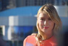 A tenista russa Maria Sharapova