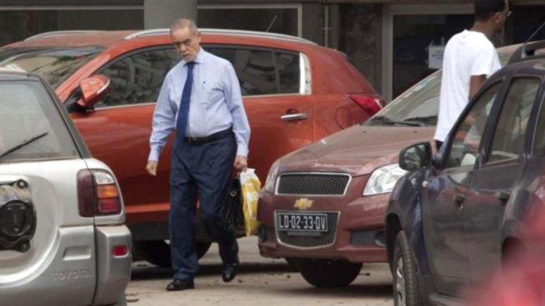 Guilherme Taveira Pinto, o português procurado pela Interpol e pela justiça espanhola, agora descoberto pelo jornal El Mundo em Luanda